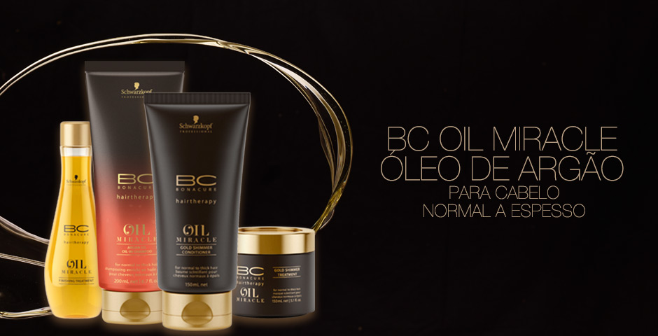 BC Oil Miracle Para Cabelo Normal a Espesso
